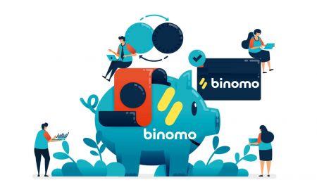Cómo depositar fondos en Binomo