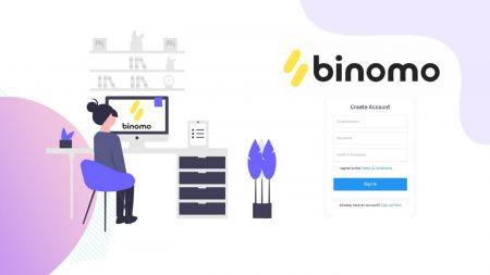 Cómo abrir una cuenta demo en Binomo