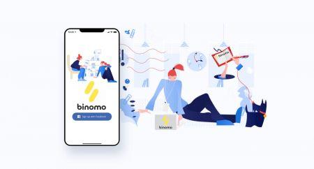Cómo abrir una cuenta comercial y registrarse en Binomo